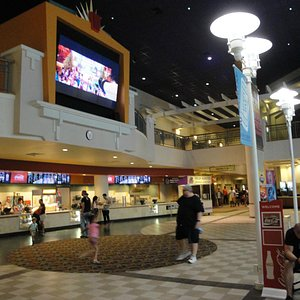 huge movie theater complex
