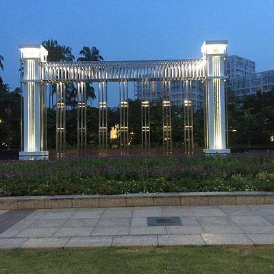 Nice cozy park that you can visit by walking for few minutes from orchard road.