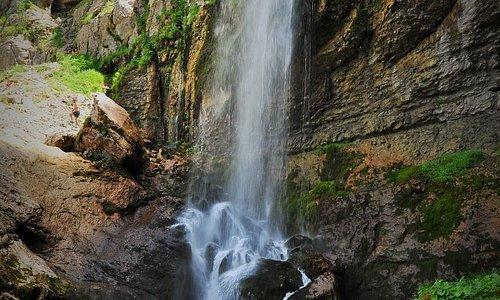 Cascade de la source du Guiers Vif