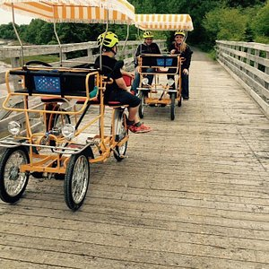 Come ride our buggies & picnic along a gorgeous seaside stretch of the Trans-Canada trail  &/or