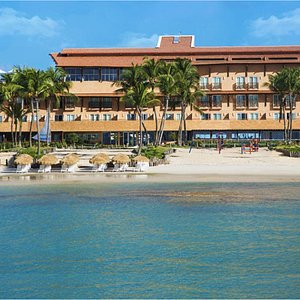 Fachada Hotel Ponta Verde Praia do Francês