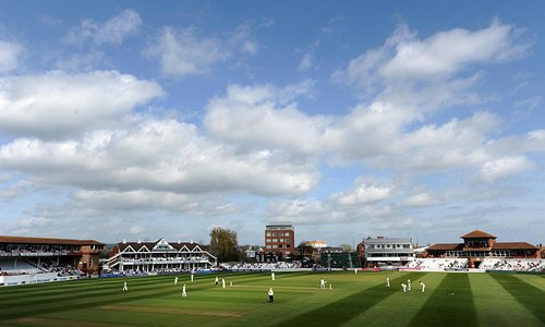 Nothing beats a sunny County Ground