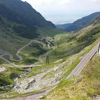 Transfaragasan Road-