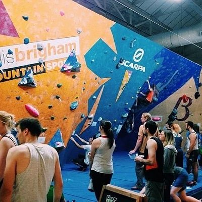 TCA's competition wall, some of the finest comps in the UK.