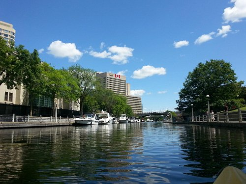 Boats on the Rideau Canal