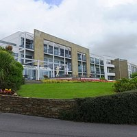 The Aghadoe Heights Hotel - don't let the modern facade keep you out.