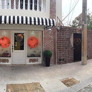 Beautiful storefront