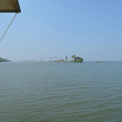 on the way to pathiramanal. alleppy back waters