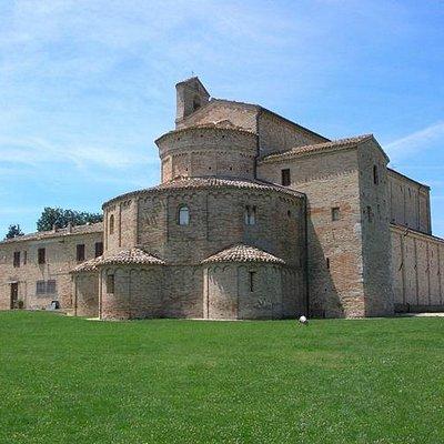 Vista esterna (abside)