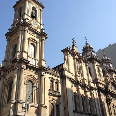 Facades: Cathedral Plaster to Left, Third Order Stone to Right