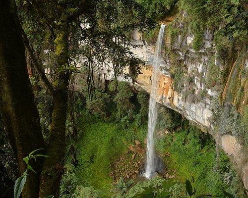 Yumbilla 2st Waterfall