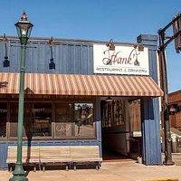 Front Door of Hank's
