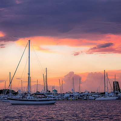 Sunset on the St. Lucie River