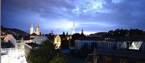 Cathedral of St. Gallen, picture made by Silviu-Cornel Iancu