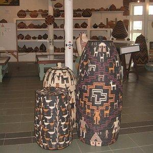 New style of Zulu baskets