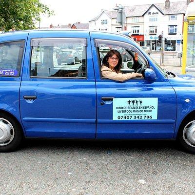 Uno de los taxis que usamos en nuestros tours