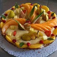 crostata di frutta fresca..��