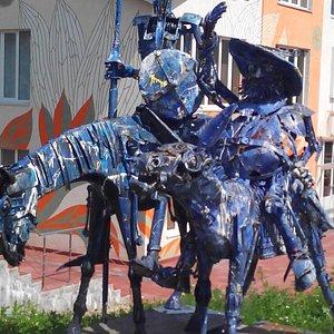Cкульптурный парк Легенда