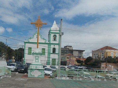 Igreja vista do mirante.