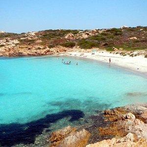 Spiaggia isola di Mortorio