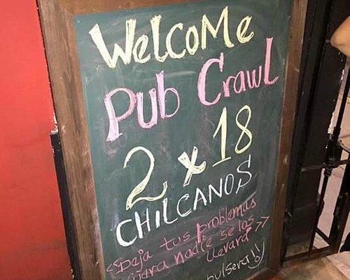 Promoción Pub Crawl Lima!
