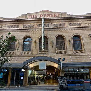 Entrance to the Regent Arcade