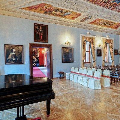 Concert Hall, Lobkowicz Palace, Prague Castle complex
