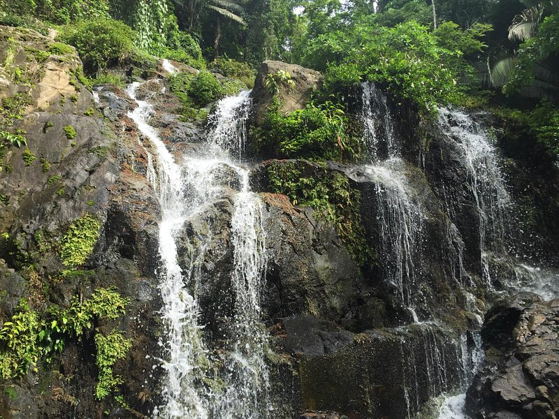 Waterfall expedition on July 8, 2015