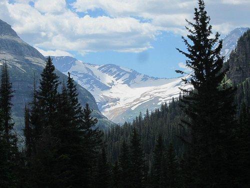 Excellent glacier view