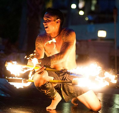 Our team is led by the Lavatai Brothers.  A World Championship Fire Knife Dance team from Samoa.