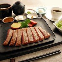 Lunch steak set: 【ランチステーキセット】
