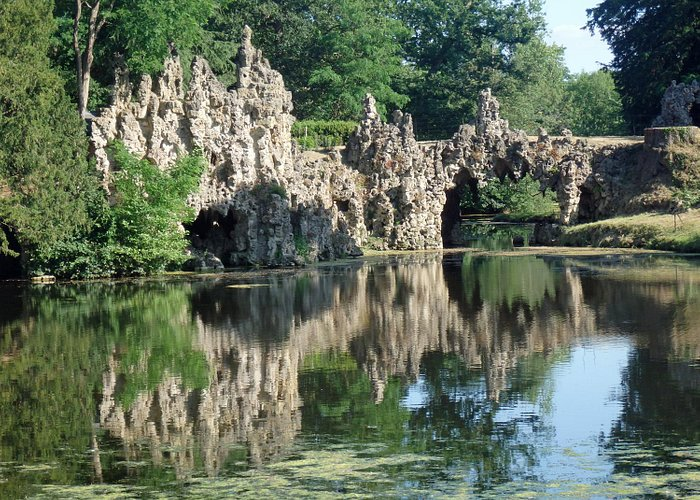 The Crystal Grotto from the Lake