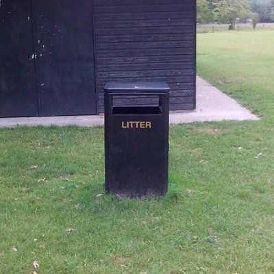 litter available...