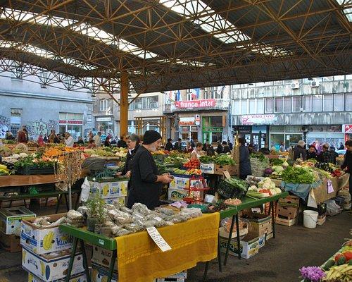 the Pijaca Market