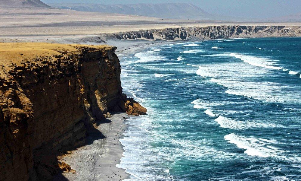 Playa Zupay en la Reserva Nacional