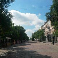 Вам точно понравится ул.Советская! Очень чисто и ухоженно.