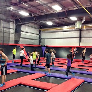 Amazing facility for the entire family!  Our girls are 14 & 15 and had a blast.  Only $10 for 30