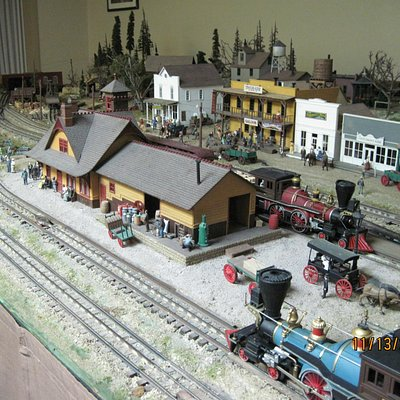 Bill Taggart's O Gauge Wild West Layout