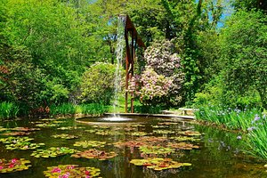 THE FLUME AND POOL-HERITAGE GARDENS-CAPE COD, MA
