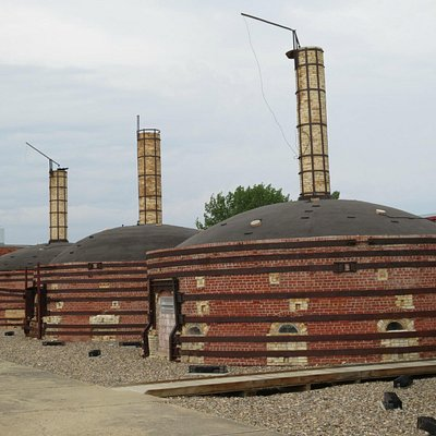 beehive kilns from outside