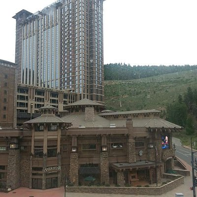 View of the Ameristar from our room