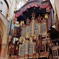 """Orgel met """"Turkse kap"""""""