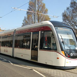 Edinburgh Trams on Princes Street