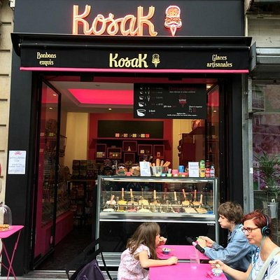 Kosak ice cream in Montmartre
