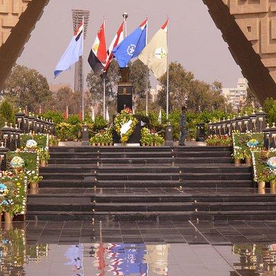 Das Mahnmal am 6. Oktober 2009