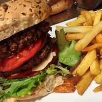 Le hamburger du comptoir