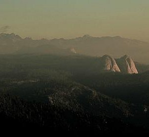 View from Mile High Vista.  Balloon Dome, Fuller Buttes.
