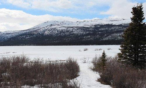Local de visualização da Aurora boreal