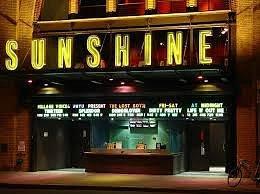 Entrance to the Landmark's Sunshine Theatre