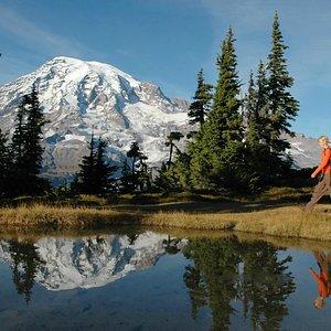 Mt. Rainier Lake